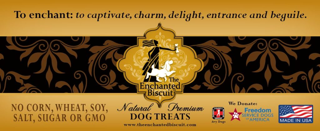 Luscious Liver dog treats donate to Avy dogs